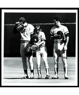 1980s Kansas City Royals NATIONAL ANTHEM Original Photo - $14.65
