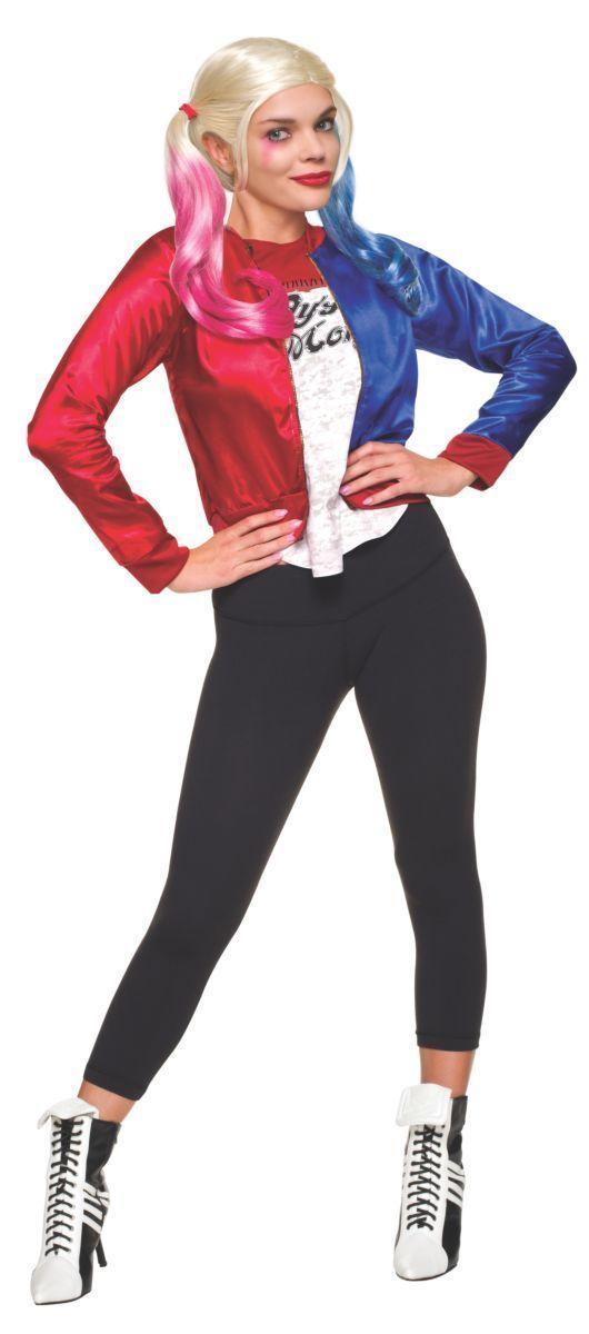 Rubies DC Comics Suicide Squad Harley Quinn Kit Teen Halloween Costume 680009