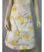 Banana Republic Skirt 4 Cotton Spandex Stretch Back Zip Straight Style Y... - $34.65