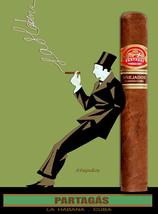 Quality Tobacco POSTER.Cuban Cigar.Partagas Anejado.Havana.Room home dec... - $9.90+