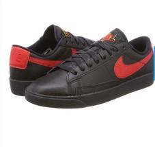 Nike Women's Blazer Low Floral Shoes Black/University Red AJ1689-001 Siz... - $112.99