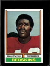 1974 TOPPS #510 CHARLEY TAYLOR EXMT REDSKINS UER HOF  *X2319 - $2.97