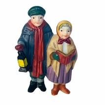 Department 56 Heritage snow village Christmas figurine 5570-0 caroler do... - $14.46