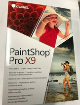 Corel PaintShop Pro X9 PC NEW! - $20.78