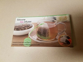 Silicone Tea Infuser Set of Four (4) BPA Free And Food Safe (NEW) - $4.90