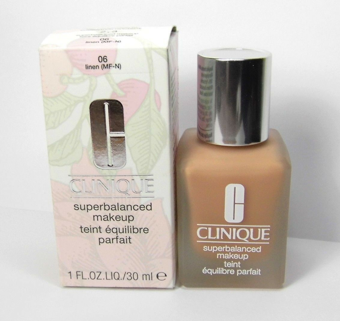 Primary image for CLINIQUE 06 LINEN Superbalanced Makeup Foundation - DAMAGED As is