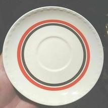 1940 Homer Laughlin Eggshell Georgian Art deco red line platinum band LOT OF 12 - $33.65