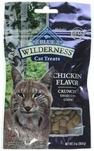 Blue Buffalo Wilderness Grain Free Chicken Crunchy Cat Treats - $12.49