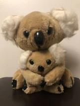 "Conesco Chase Vintage Koala Bear Mom & Baby Stuffed Animal Toy 10.5"" - $16.82"