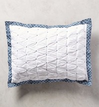 Anthropologie Madia Collection 2 KING Shams - NWT - $71.27