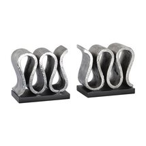Uttermost Bookend in Forged Silver - Set of 2 - $160.60