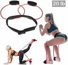 DINAPENTS Women's Fitness Booty Bands (20lbs), Adjustable Waist Belt