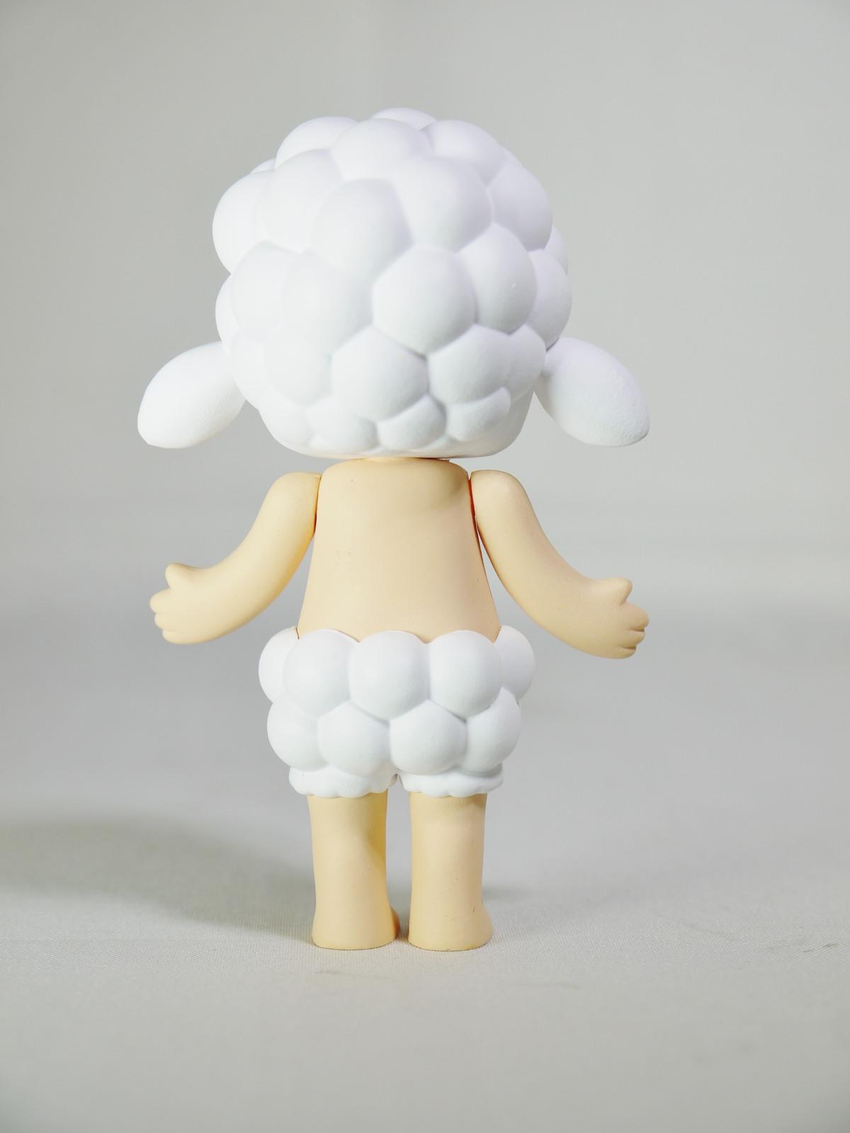 POP MART Kennyswork BLOCK Little Molly Chinese Zodiac Sheep White Mini Figure