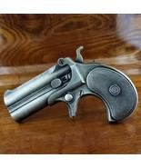 Vintage 1978 Bergamot Brass Works F-156 Derringer Hand Gun Pistol Belt B... - $21.95