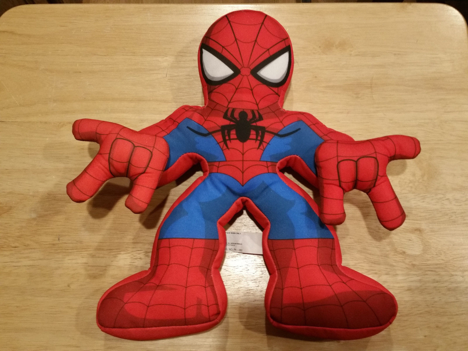 "Marvel Playskool Heroes ELECTRONIC WEB-TALKING SPIDER-MAN 11"" 15 Sounds&Phrases"