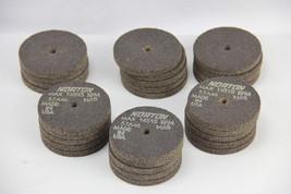 "LOT OF 28 Norton 57A46 N6B Grinding Wheel MAX 14515RPM Abrasive 2-1/2""x1... - $92.02"