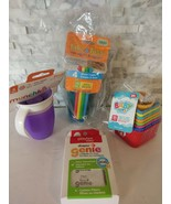 Baby Cups Bath Toys Genie Filters Lot - $13.86
