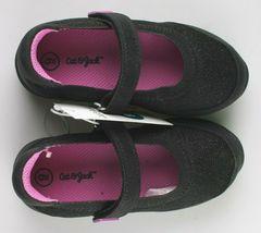 Cat & Jack Girls Black Purple Eva Slip-On Flats Sneakers Toddler Size 9 US image 3
