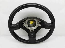 2002 - 2005 Audi A4 Steering Wheel Black 3 Spoke Leather - $74.24