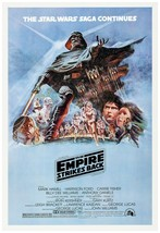 """Star Wars The Empire Strikes Back Movie Poster 24x36"""" - (1980) (Version D) - $18.02"""