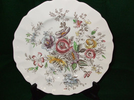 "Vintage Johnson Brothers Dinner Plates ""Sheraton"" - $50.00"