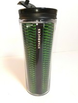 Starbucks Coffee Tea Tumbler Travel Mug Cup Green Holographic Design 16 ... - $14.79
