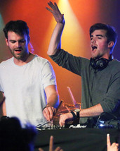 The Chainsmokers in concert on keyboard 16x20 Canvas Giclee - $69.99