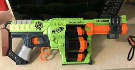 Nerf Zombie Strike Doominator 24 Dart Blaster Hasbro Rotating Barrel - $20.56