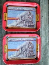 Coca-Cola Commemorative Tray Memphis Special Train Set of 2 - $19.31
