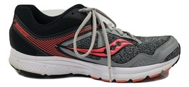 Saucony Cohesion 10 S15333-14 Women's Size 11 Gray/Coral Running Athleti... - $28.84