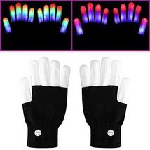 eboozone LED Gloves, Finger Lights Toys with Lights Rave Gloves for Part... - $20.21