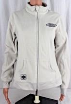 Harley Davidson women's gray long sleeve fleece jacket zipper size M - $26.64