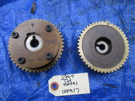 04-08 Acura TSX K24A2 camshaft gears cam gears RBB K24 engine motor OEM 100917 - $99.99