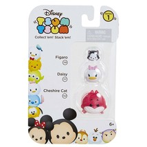 Disney Tsum Tsum Stackable Collectible Figures Series #1 Figaro Daisy Cheshire - $3.95