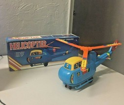 Battery Operated Helicopter NK Made In China Rare - $49.89