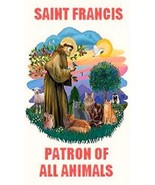 Saint Francis Patron of All Animals Magnet #11 - $4.99