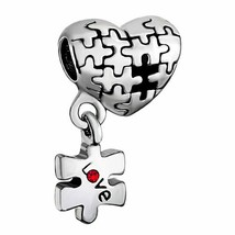 Love Autism Awareness Puzzle Charms Beads Bracelets With Pandora Troll C... - $13.68