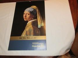Rx , Pharmacy , Calendar , Hoechst-Roussel Pharmaceuticals Inc.,1987 , V... - $24.91