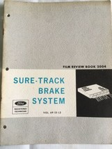 Ford Sure-Track brake system Manual  1969 - $13.78