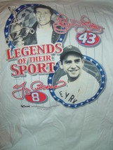Celebiating 100 Year Legends of The Sport Richard Petty & Yogi Berra T-S... - $72.00