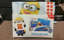 Despicable Me Twin/Single Size Sheet Set - $38.00