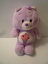 "2018 12"" Care Bears Purple Share Bear Ice Cream Soda Plush Stuffed Toy A... - $14.40"