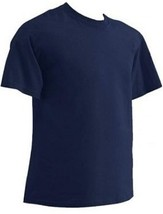 4X Big Short Sleeve T-SHIRTS Navy & Black 4XB Tees Free Shipping! New! - $14.99