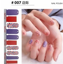Full Wraps Shinning Nail Stickers Decals DIY Nail Art Stickers for 20 Fi... - $10.69