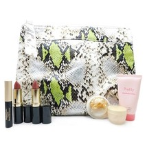 Elizabeth Arden Snake Print Bag Set: Moisture Cream .25 Oz., Gold Restorative Ca - $28.49