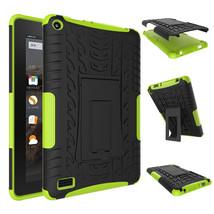 """Rugged Hybrid Protective With KickStand Case For Amazon Fire 7"""" 2015 - G... - $18.98"""