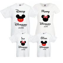 Disneyland 2018 Family Bundle T shirts! Mummy/Daddy/Kids/baby Personalised!! LOT - $8.35+