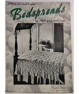 Bedspreads to Knit and Crochet  Book No. 166 The Spool Cotton Company - $3.99