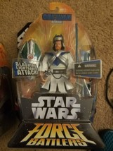 Obi-Wan Kenobi Action Figure - Star Wars Force Battlers-2005 Hasbro SEALED - $7.92