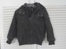 boys winter jacket with hood Blackish Gray Size 2T - $4.99